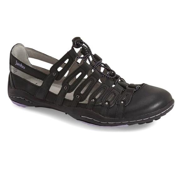 Jambu Shoes - Jambu All Terra Memory Foam Sneaker Sandals Sz 8.5